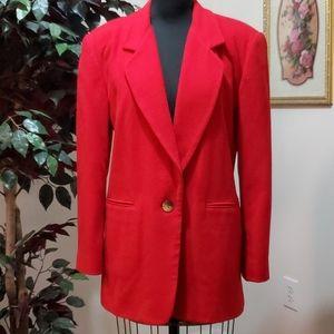 Vintage Wool/Cashmere Blazer – Harve' Benard – 12